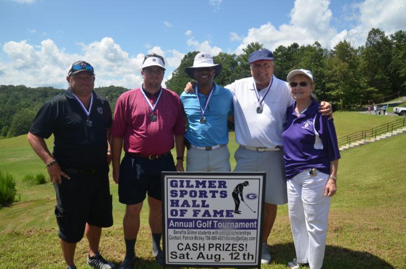 2nd Low Gross Winners (James Smith, Ryan Turner, Daryl Jacobs, Steve Smith, Chris Waldman (HOF))