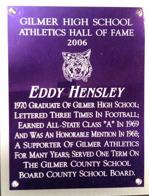 Hensley, Eddy