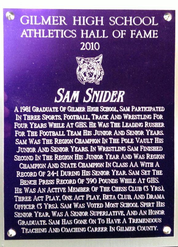 Snider, Sam