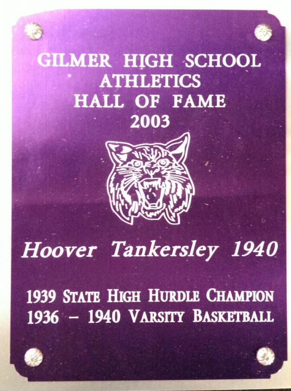 Tankersley, Hoover