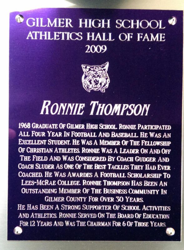 Thompson, Ronnie